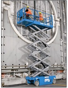 Nacelle ciseaux électriques 12 mètres